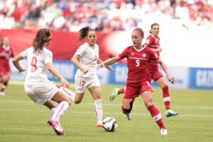 FIFA Women's World Cup Canada 2015 23 June 2015 - Vancouver, BC, Canada Canada Soccer by Jay Shaw Josée Bélanger