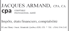 Jacques Armand CPA, CA