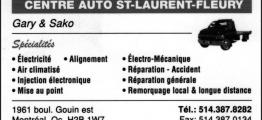 Centre auto St-Laurent-Fleury