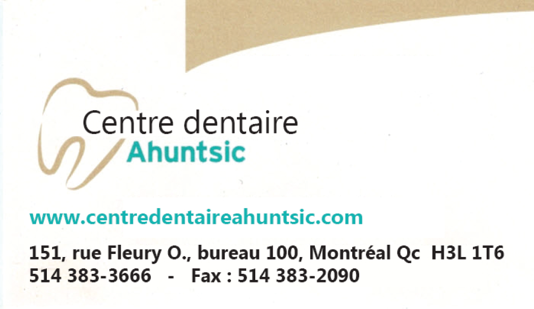 Centre dentaire Ahuntsic