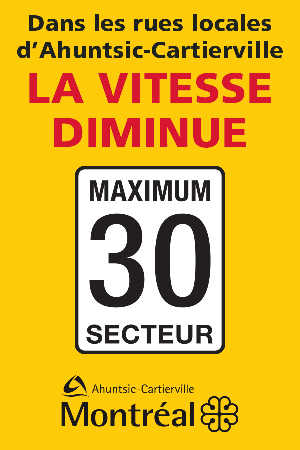 Réduction de la vitesse